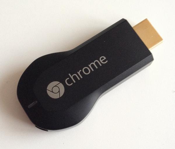 Google Chromecast…..